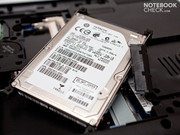 …and the installed 2.5 inch SATA hard disk to be replaced.