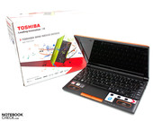 In review: Toshiba NB550D-10H netbook, made available to us by: