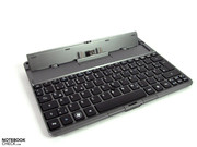 The docking station bids keyboard,
