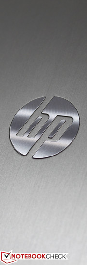 A polished emblem on brushed aluminium - classy, ...