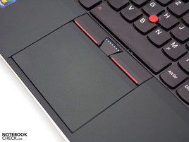 Besides the touchpad, the trackpoint shouldn't be left out