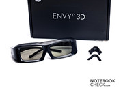 The 3D glasses and interchangeable nosepads