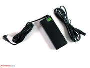 80 Watt AC adapter with plenty of reserve