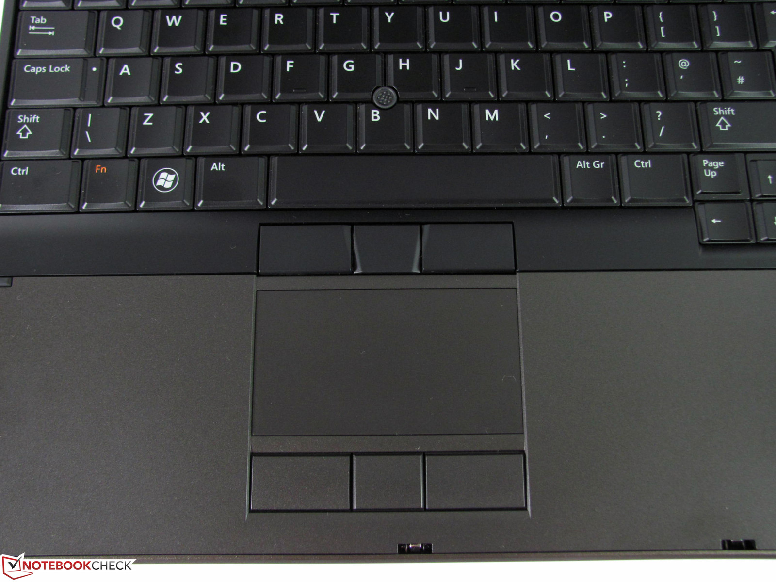 touchpad dell m4600
