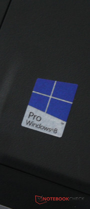 The operating system is Windows 8 Pro.