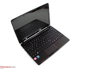 The Aspire One 722 is an 11.6-inch netbook.
