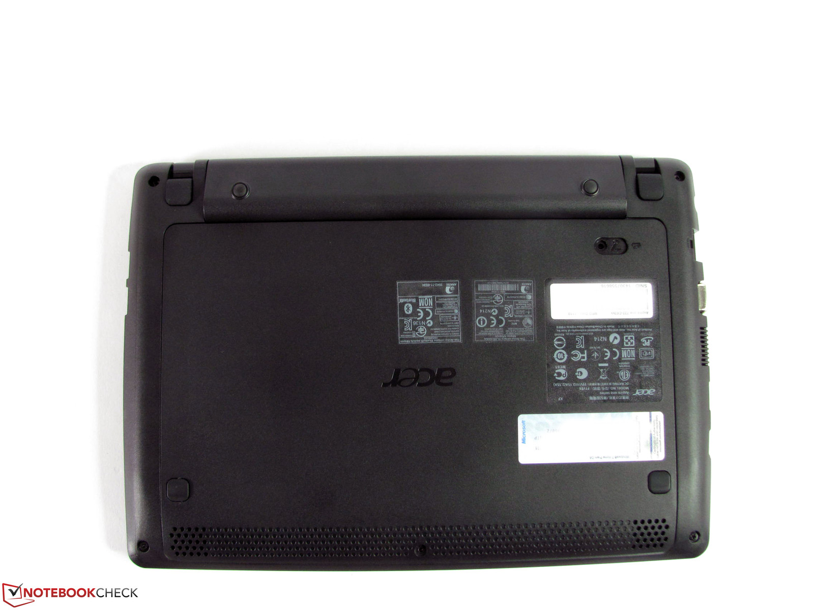 Review Acer Aspire One 722 C62kk Notebook Notebookcheck