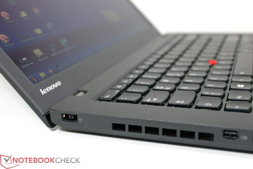 Thin case, simple design, new color, but still a typical ThinkPad.