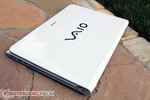 Sony's Vaio SV-E14A1M6EW in white