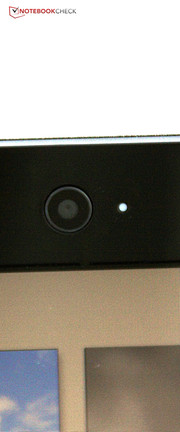 Many things have remained unchanged compared with its bigger brother, e.g. the webcam.