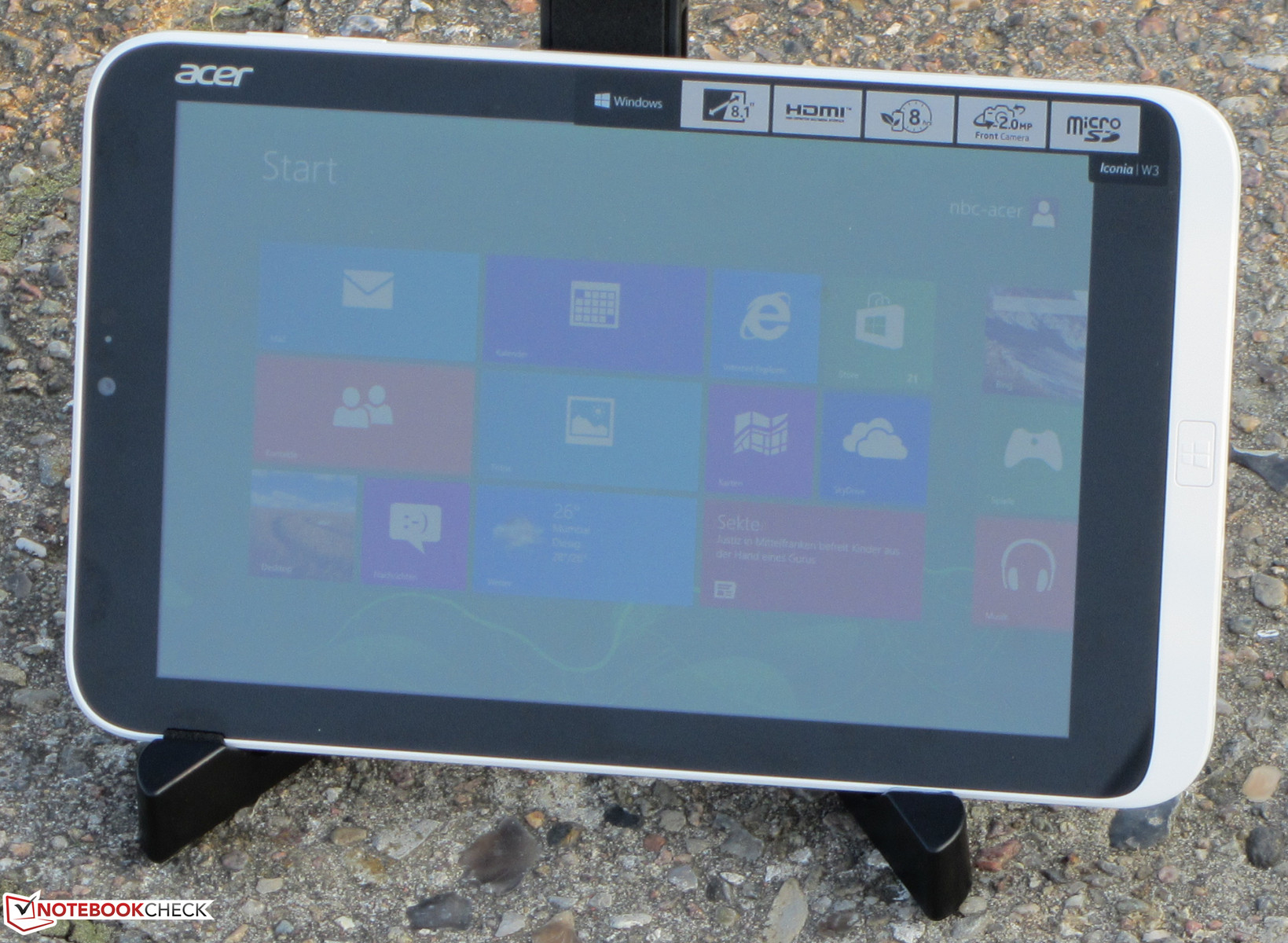 NEW DRIVERS: ACER ICONIA W3-810 BROADCOM WLAN