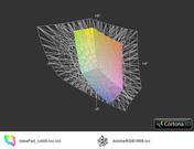 Blickwinkel Lenovo IdeaPad U400-09932DU