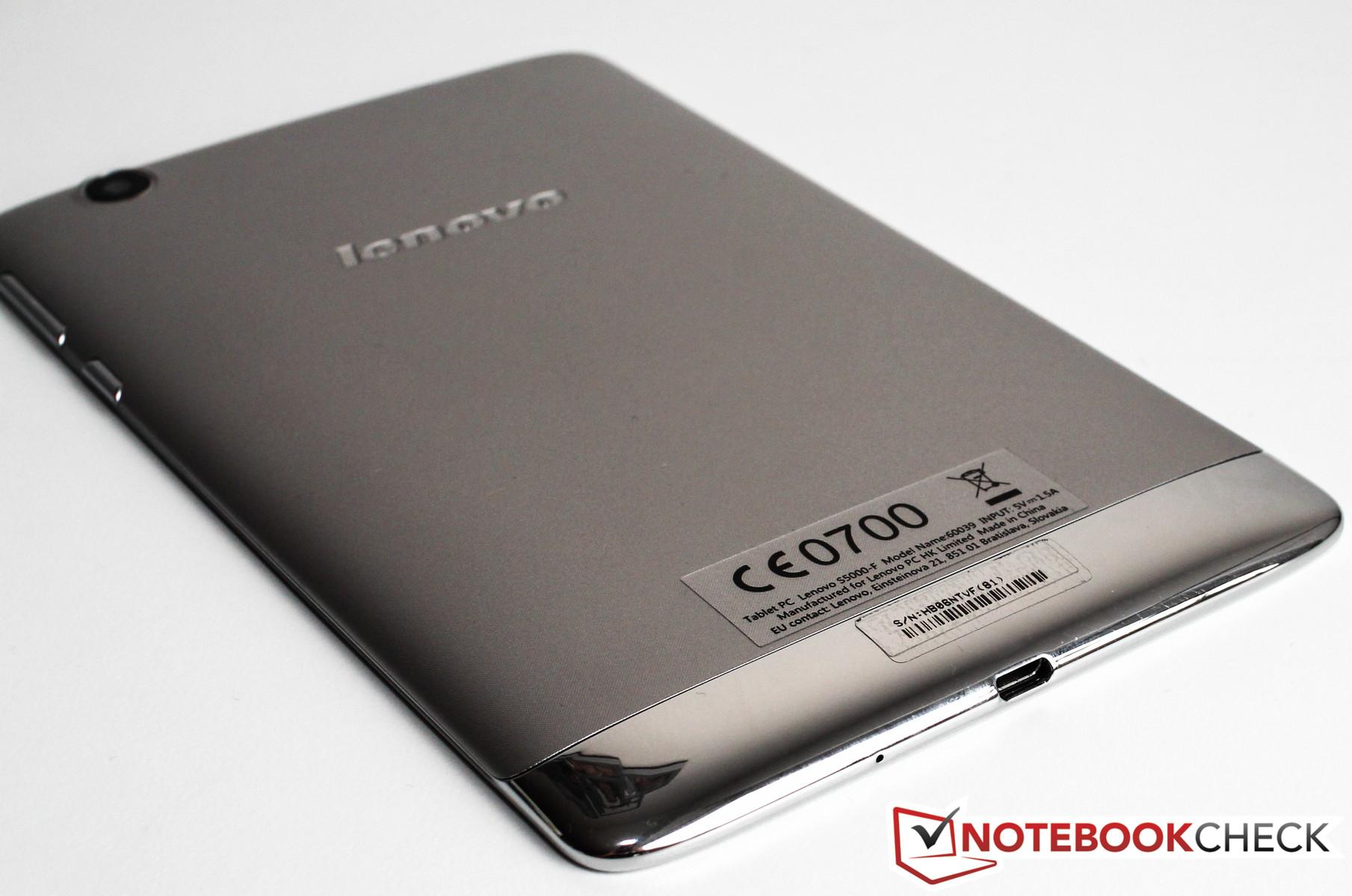 Review Lenovo S5000-F Tablet