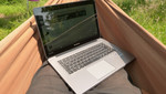 Lenovo U410: Stylish but hardly suitable for outdoor use