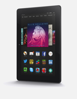 In Review: Amazon Fire HDX 8.9. Test model courtesy of Amazon Germany.
