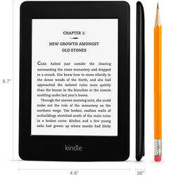 Kindle Paperwhite e-reader dimensions