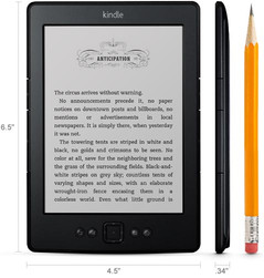 Kindle e-reader dimensions