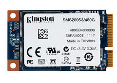 Kingston SSDNow mS200 mSATA SSD 480 GB version