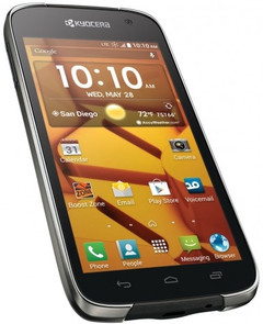 Kyocera Hydro Icon waterproof smartphone with LTE and quad-core processor