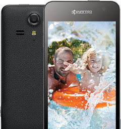 Kyocera Hydro Vibe waterproof Android smartphone with quad-core processor and wireless charging