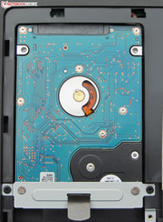 It is easy to replace the hard drive.