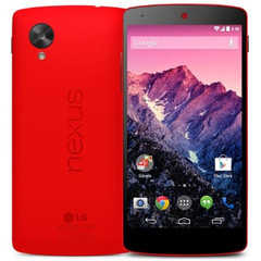 Nexus 5 now available in red color
