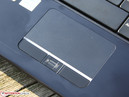 Touchpad with LED & fingerprint reader