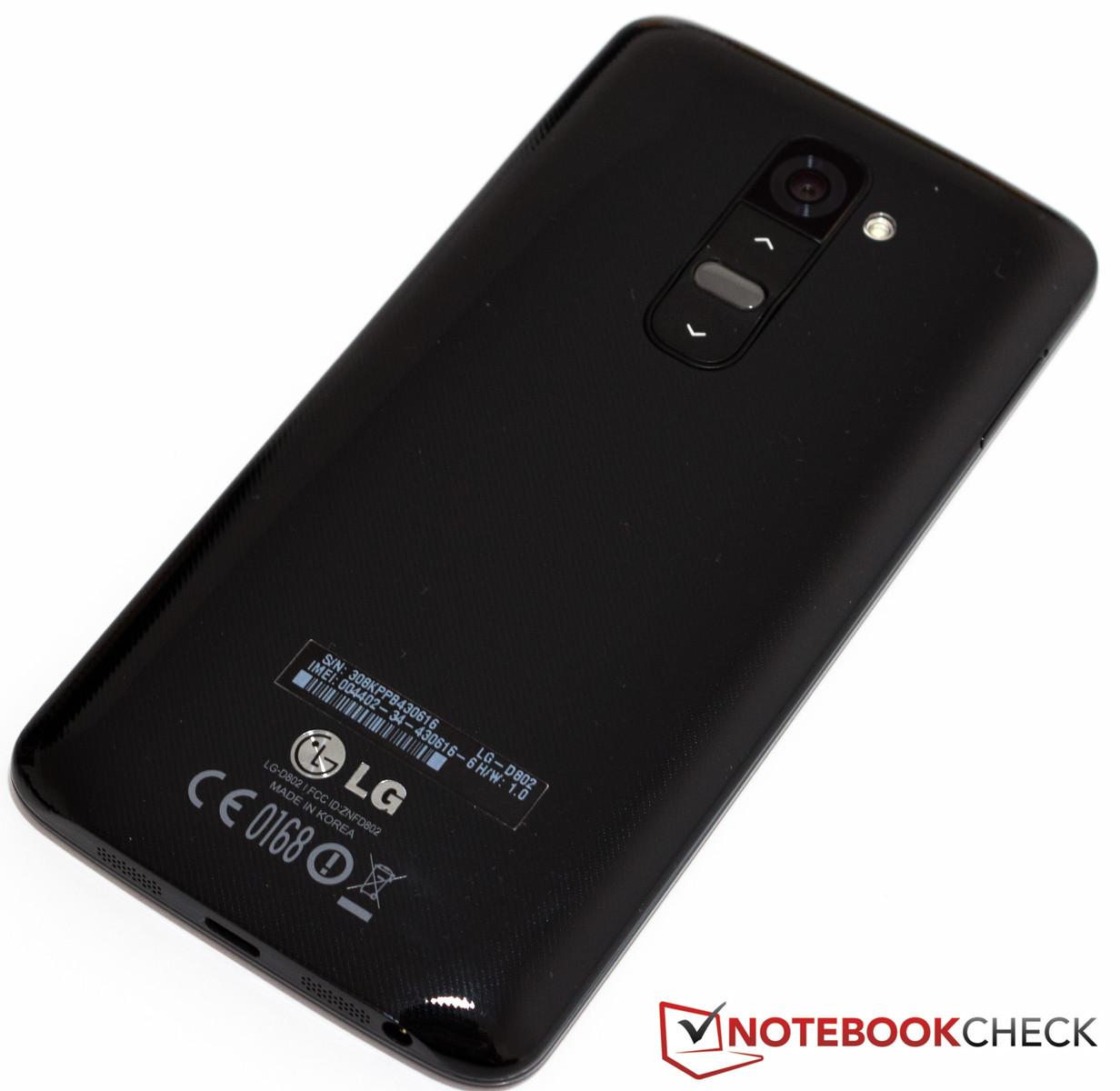 Review Lg G2 Smartphone Notebookcheck Net Reviews