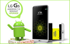 LG G5 Android flagship gets Android Nougat update on Sprint
