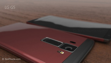 Concept image of LG G5 (Source: Jermaine Smith, NxtPhone.com)