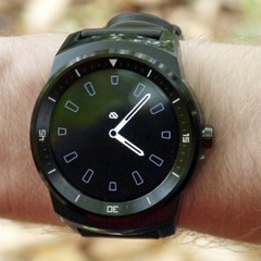 LG G Watch R smartwatch with Snapdragon 400 SoC and Android Wear