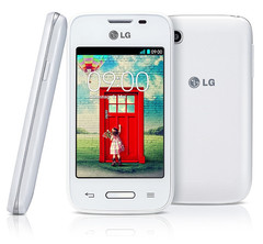LG L35 Android smartphone with Snapdragon 200, 512 MB RAM and 4 GB storage