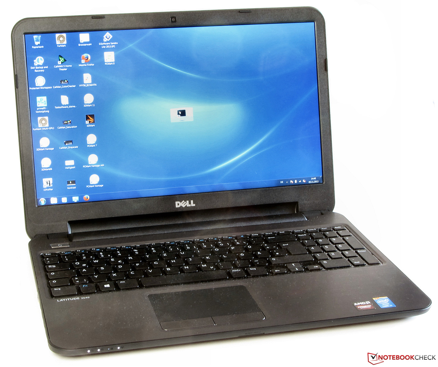 Review Dell Latitude 3540 Notebook - NotebookCheck net Reviews