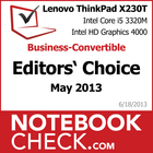 Award ThinkPad X230