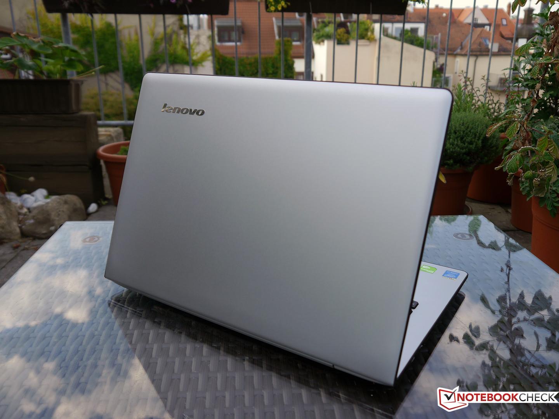 Lenovo U41-70 Notebook Review - NotebookCheck net Reviews