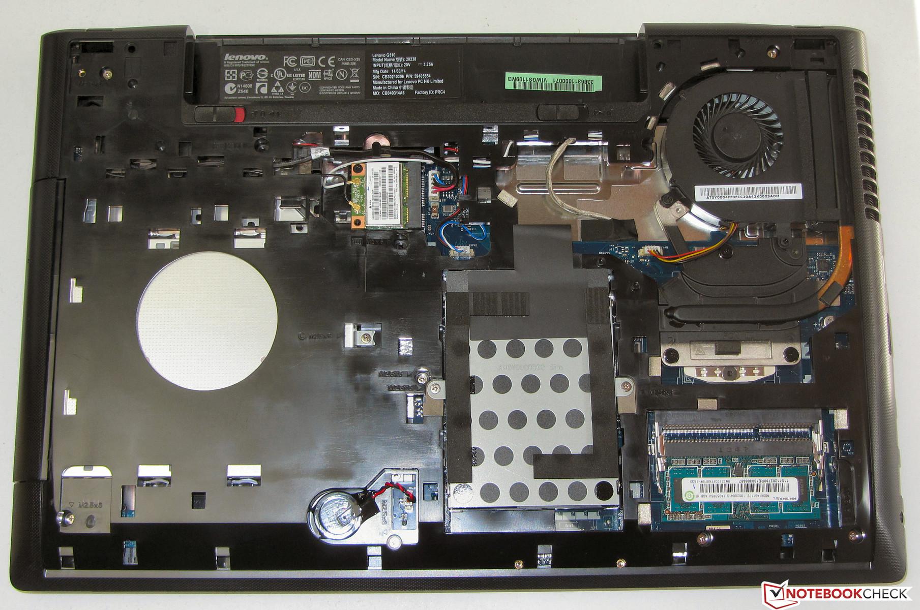 Lenovo G510 Notebook Review Notebookcheck Net Reviews