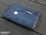 The plastic construction is non-slip and resistant. It starts on the base plate