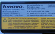 The battery has the dimensions 20.8 cm x 5 cm x 2 cm ...