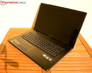 Not exactly a portable solution with a total weight of 3 kg: Lenovo's G780