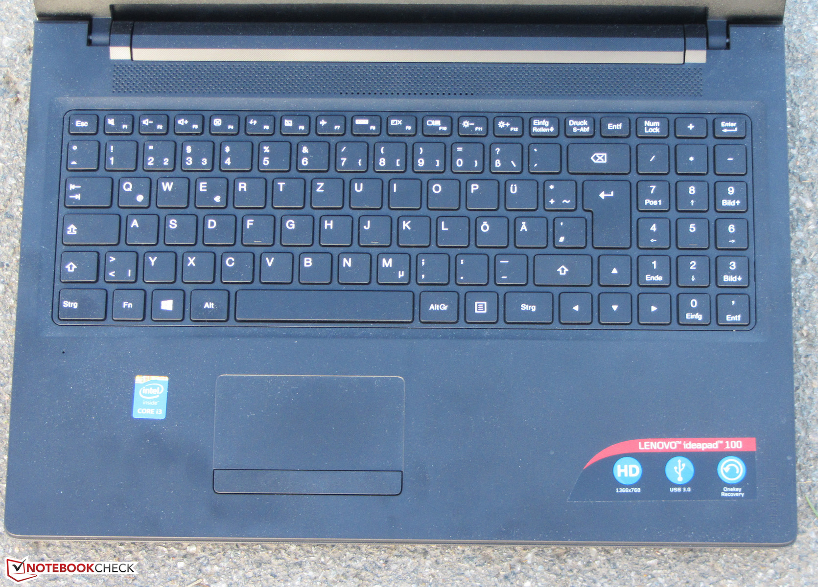 Lenovo IdeaPad 100-15IBD Notebook Review - NotebookCheck net