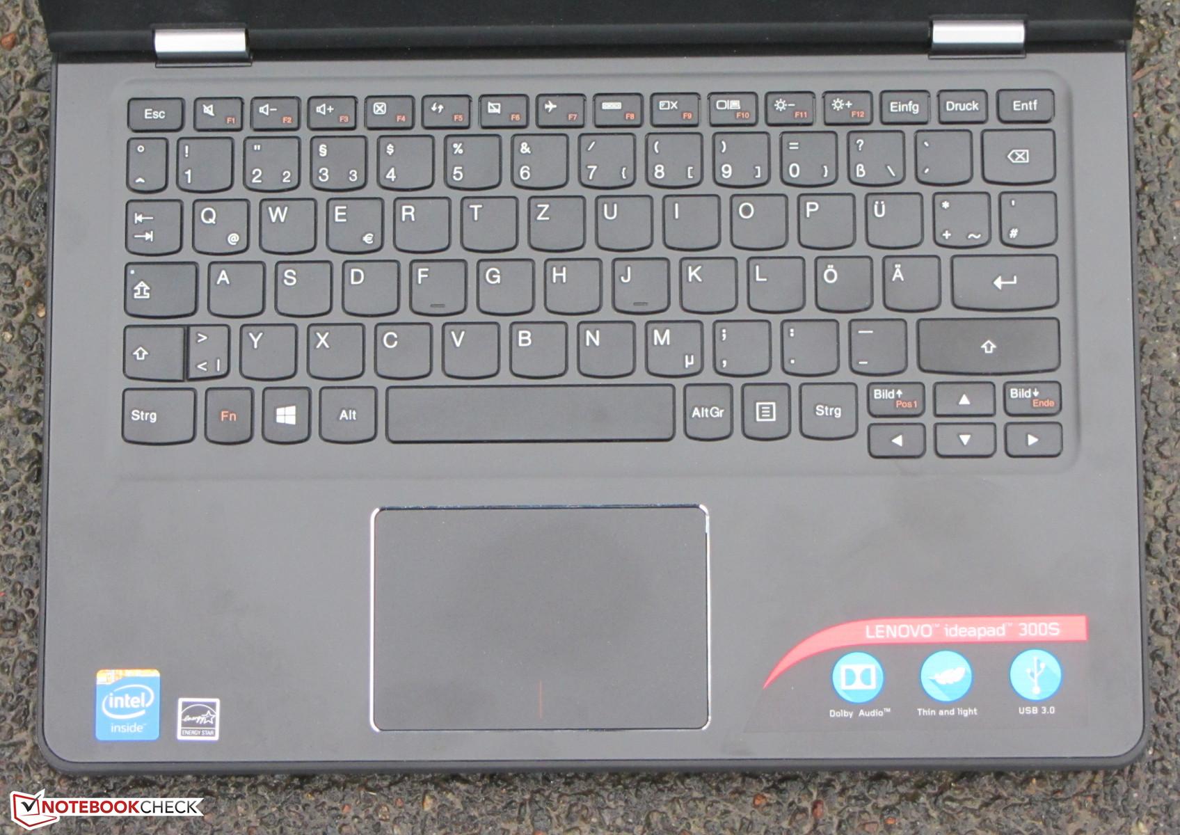 Lenovo IdeaPad 300S-11IBR Netbook Review - NotebookCheck net