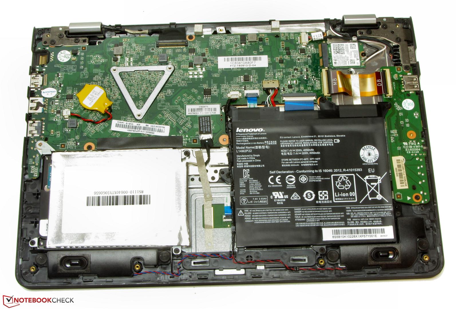 Lenovo Ideapad 300s 11ibr Netbook Review Notebookcheck