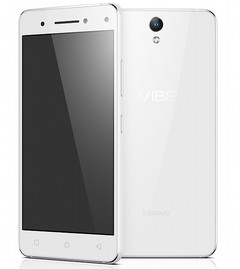Lenovo Vibe S1 Android smartphone with dual selfie camera