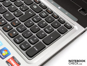 Keyboard with number pad
