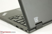 Unlike the HP Chromebook 11 or Samsung Series 3 Chromebook, this Lenovo has a more professional look and feel