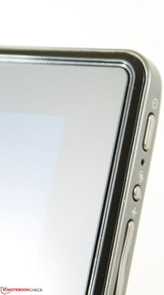 Edge-to-Edge IOX glass display with matte covering
