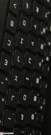 Keyboard offers colorful backlight options