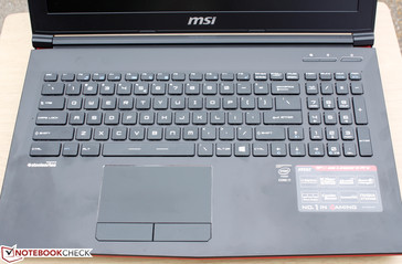 Steelseries keyboard as found on other MSI G series models