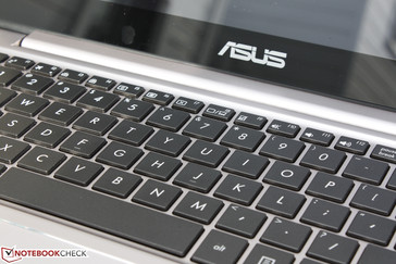 Good feedback and travel for an Ultrabook keyboard