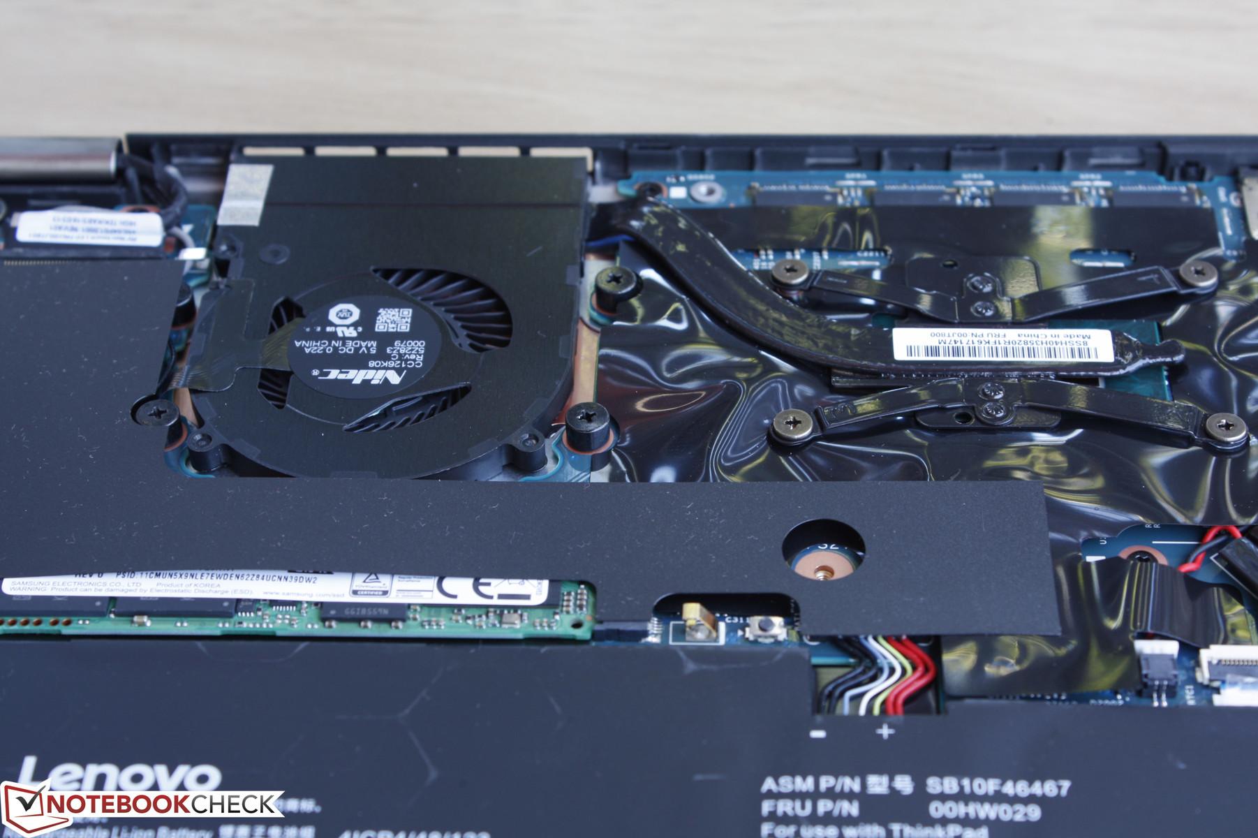Lenovo thinkpad x1 carbon fan noise